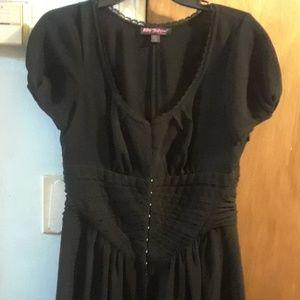 Classic Black Betsey Johnson dress, size 10